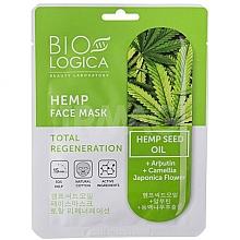 Voňavky, Parfémy, kozmetika Maska Absolútna regenerácia s konopným olejom - Biologica Hemp