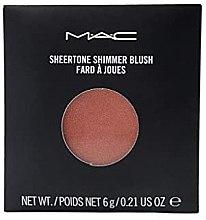 Voňavky, Parfémy, kozmetika Transparentná žiariaca lícenka - MAC Sheertone Shimmer Blush Refill (vymeniteľná jednotka)