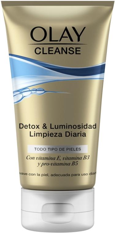 Čistiaci gélový scrub - Olay Cleanse Detox & Luminosity Facial Cleansing Gel — Obrázky N1
