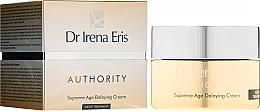 Voňavky, Parfémy, kozmetika Krém na tvár - Dr Irena Eris Authority Supreme Age Delaying Cream