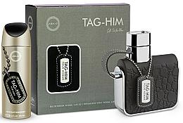 Voňavky, Parfémy, kozmetika Armaf Tag Him For Men - Sada (deo/200ml + edt/100ml)