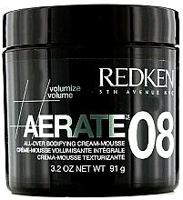 Voňavky, Parfémy, kozmetika Krém-pena pre hustotu vlasov - Redken Styling Aerate 08