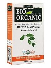 Voňavky, Parfémy, kozmetika Prášok z listov henny na farbenie vlasov - Indus Valley Bio Organic Henna Leaf Powder
