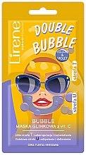 Voňavky, Parfémy, kozmetika Hlinená-bublinková maska s vitamínom C - Lirene Double Bubble Mask