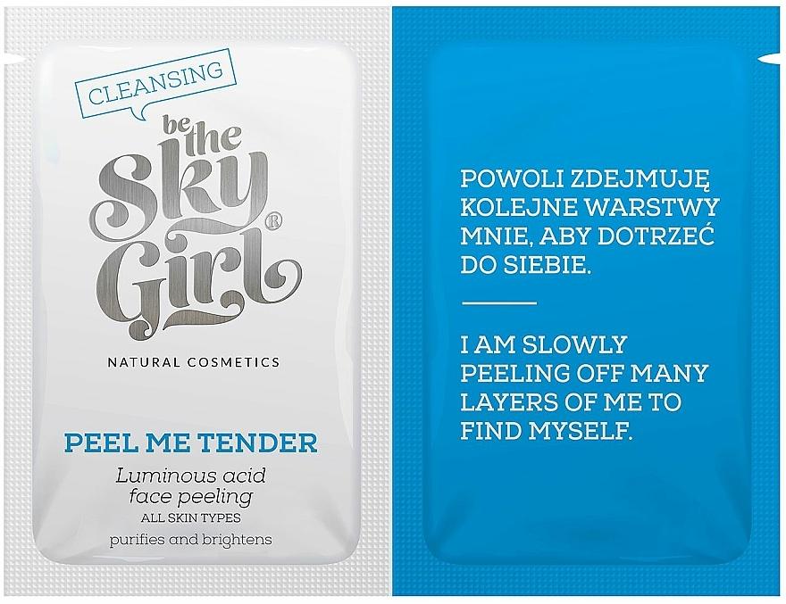 Peeling na tvár - Be The Sky Girl Super Star Peel Me Tender — Obrázky N1