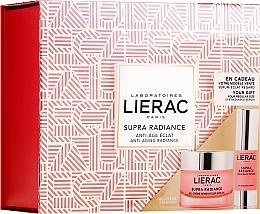 Voňavky, Parfémy, kozmetika Sada - Lierac Supra Radiance (gel/cr/50ml + eye/ser/15ml)