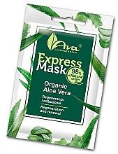 Maska na tvár s aloe - Ava Laboratorium Beauty Express Mask Organic Aloe Vera — Obrázky N1