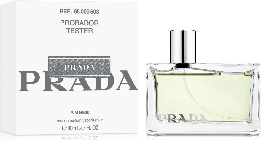 Prada Amber - Parfumovaná voda (tester s viečkom) — Obrázky N2