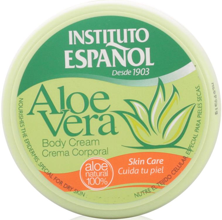 "Krém na telo ""Aloe vera"" - Instituto Espanol Aloe Vera Body Cream"
