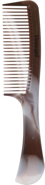 Hrebeň na vlasy 20,5 cm, hnedo-šedý, 1504 - Donegal Hair Comb — Obrázky N1