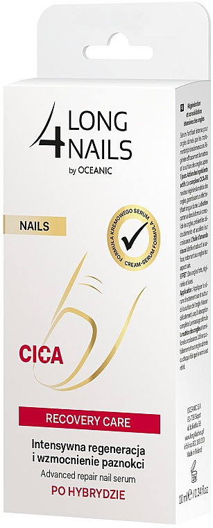 Sérum na nechty - Long4Lashes Nails Cica Recovery Care — Obrázky N4