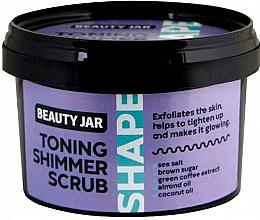 Voňavky, Parfémy, kozmetika Tónizovací telový peeling - Beauty Jar Toning Shimmer Scrub