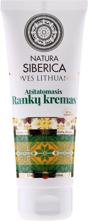 Regeneračný krém na ruky - Natura Siberica Loves Lithuania Repair Hand Cream — Obrázky N1