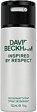 Voňavky, Parfémy, kozmetika David Beckham Inspired by Respect - Aerosól-deodorant