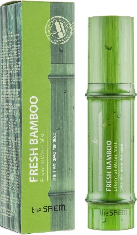 Mušt na tvár a telo s extraktom z bambusu - The Saem Fresh Bamboo Essential Water Mist