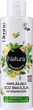Voňavky, Parfémy, kozmetika Hydratačná odličovacia eco emulzia - Lirene Natura Fermenty Moisturizing Eco Emulsion