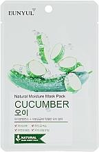Voňavky, Parfémy, kozmetika Textilná maska s uhorkou - Eunyul Natural Moisture Mask Pack