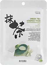 Voňavky, Parfémy, kozmetika Textilná maska na tvár s extraktom zo zeleného čaju - Mitomo Green Tea Essence Mask