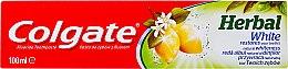 Voňavky, Parfémy, kozmetika Bieliaca zubná pasta - Colgate Herbal White With Lemon Oil