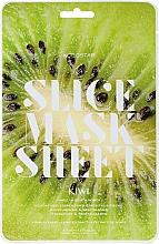 """Voňavky, Parfémy, kozmetika Maska-slice na tvár """"Kivi"""" - Kocostar Slice Mask Sheet Kiwi"""