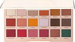 Voňavky, Parfémy, kozmetika Paleta očných tieňov - Makeup Revolution X Roxxsaurus Roxi Eye Shadow Palette