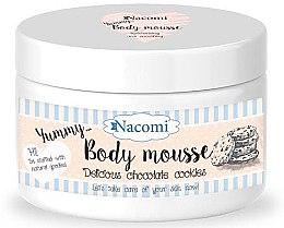 """Voňavky, Parfémy, kozmetika Telová pena """"Čokoládové sušienky"""" - Nacomi Body Mousse"""