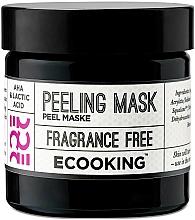 Voňavky, Parfémy, kozmetika Peelingová maska na tvár - Ecooking Peeling Mask
