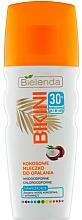 Voňavky, Parfémy, kozmetika Kokosové mlieko s ochranou pred slnkom - Bielenda Bikini Moisturizing Suntan Milk SPF30