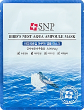 Voňavky, Parfémy, kozmetika Omladzujúca maska s extraktom z lastovičieho hniezda - SNP Birds Nest Aqua Ampoule Mask