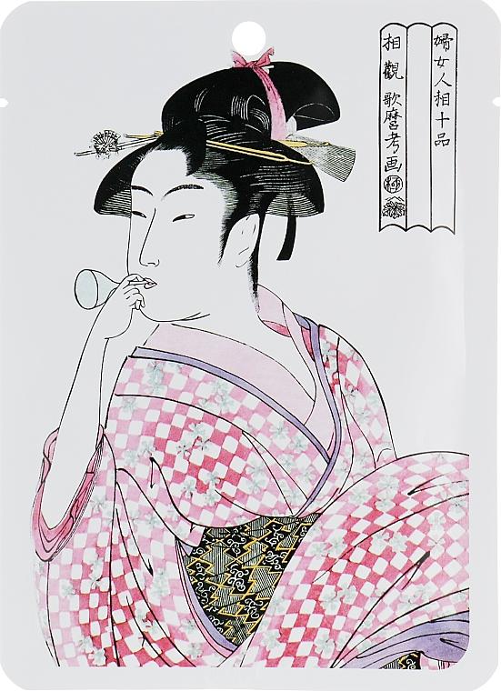 """Textilná maska na tvár """"Kolagén a Lithospermum"""" - Mitomo Essence Sheet Mask Kollageeni + Lithospermum"""