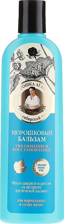 """Balzam na vlasy """"Zvlhčovanie a regenerácia"""" - Recepty babičky Agafy"""