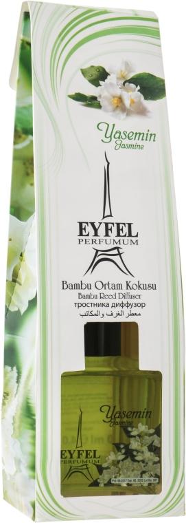 """Aromatický difúzor """"Jazmín"""" - Eyfel Perfume Reed Diffuser Jasmin"""
