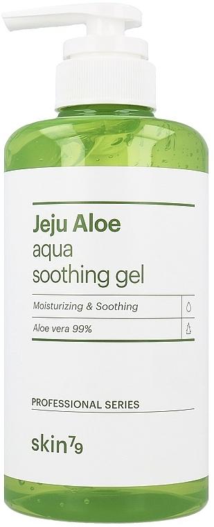 Upokojujúci gél na tvár, telo a vlasy - Skin79 Jeju Aloe Aqua Soothing Gel