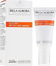 Voňavky, Parfémy, kozmetika Ochranný krém proti slnku - Bella Aurora Solar Protector Anti-Age SPF50+