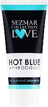 Voňavky, Parfémy, kozmetika Sprchový gél a pre intímnu hygienu - Hristina Cosmetics Sezmar Collection Love Hot Blue Aphrodisiac Shower Gel
