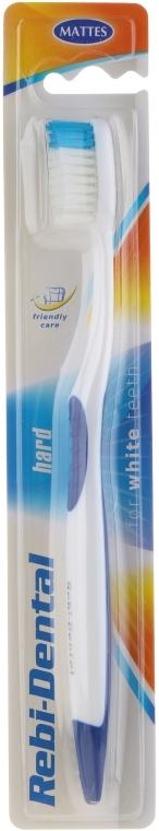 Zubná kefka Rebi-Dental M46, s tvrdými štetinami - Mattes — Obrázky N1