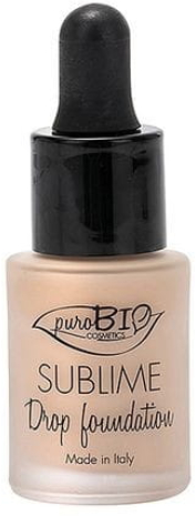 Tekutý make-up - PuroBio Sublime Drop Foundation