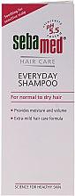 Voňavky, Parfémy, kozmetika Šampón pre normálne a suché vlasy - Sebamed Classic Everyday Shampoo