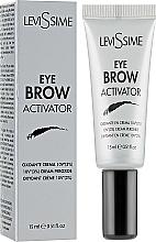 Voňavky, Parfémy, kozmetika Aktivátor farby na obočie 3% - LeviSsime Eye Brow Activator