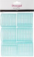 Voňavky, Parfémy, kozmetika Natáčky na suchý zips , 56 mm, 6 ks - Donegal Hair Curlers