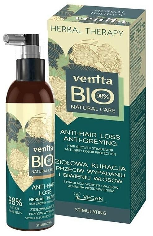 Prostriedok proti vypadávaniu vlasov a šediveniu - Venita Bio Natural Care Anti-Hair Loss — Obrázky N1