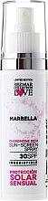 """Voňavky, Parfémy, kozmetika Opaľovací krém """"Marbella"""" SPF30 - Sezmar Collection Marbella"""