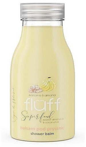 """Sprchové mlieko """"Banán a mandle"""" - Fluff Smoothie Superfood Body Lotion Bananas and Almonds"""