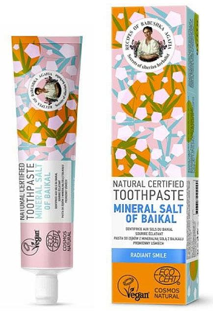 Prírodná zubná pasta s bajkalskou minerálnou soľou - Recepty babičky Agafji — Obrázky N1