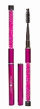 Voňavky, Parfémy, kozmetika Kefka na mihalnice a obočie, ružová - Lash Brow Pink