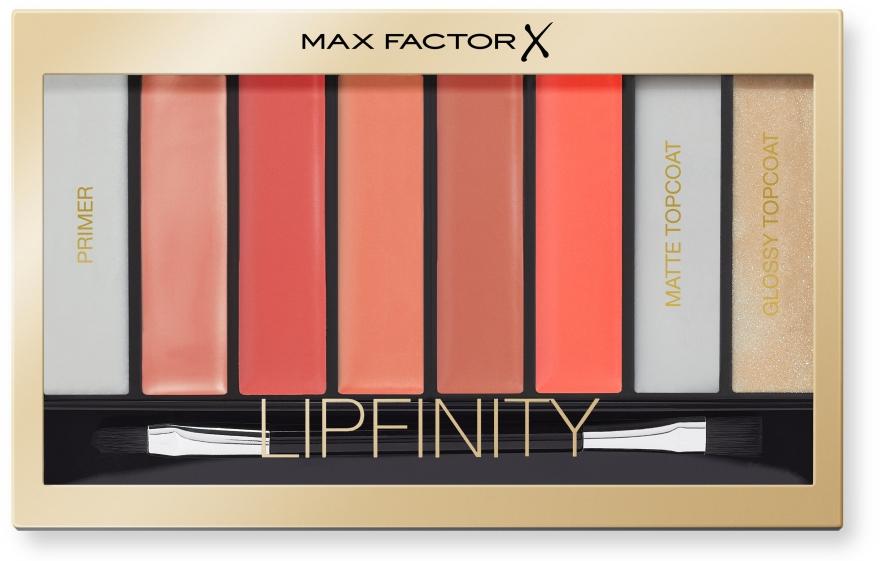 Paleta rúžov na pery - Max Factor Lipfinity Palette