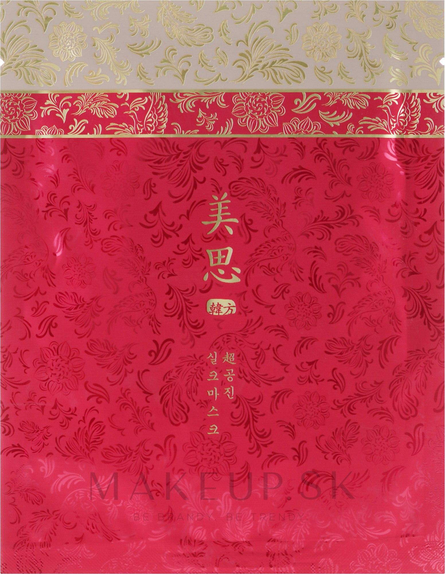 Výživná maska - Missha Cho Gong Jin Silk Mask — Obrázky 40 g