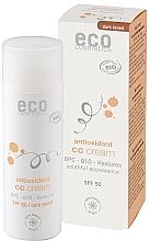 Voňavky, Parfémy, kozmetika CC krém SPF 50 - Eco Cosmetics Tinted CC Cream SPF 50