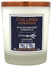 Voňavky, Parfémy, kozmetika Vonná sviečka, levanduľa - Collines de Provence White Tea Candles
