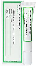 Voňavky, Parfémy, kozmetika Peptidový krém proti starnutiu proti tmavým kruhom - Beaute Mediterranea Matrikine Anti-Wrinkle Eye Contour